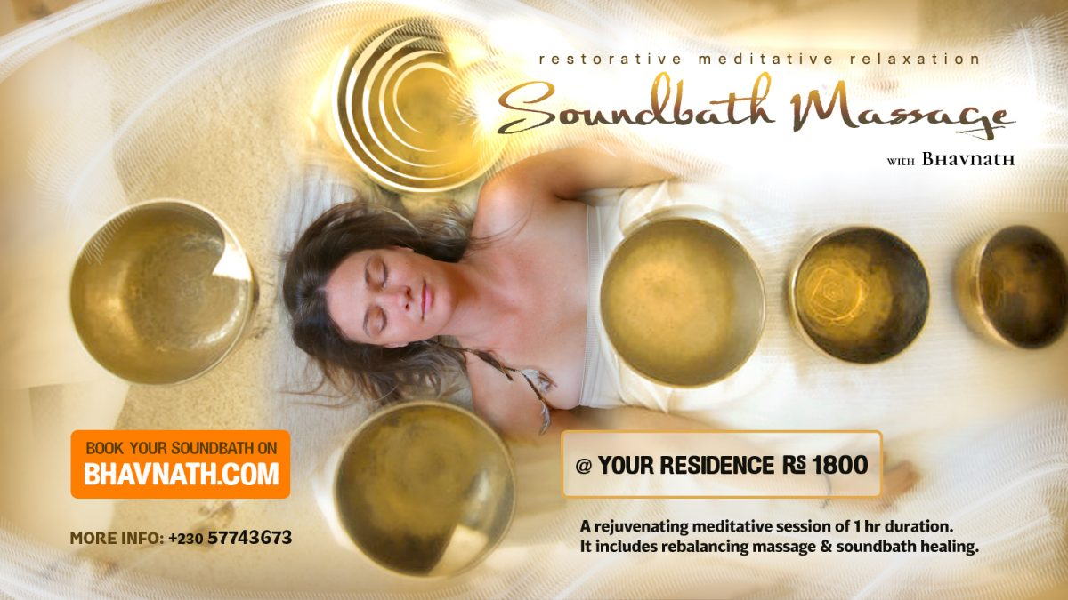 Sound Healing Massage